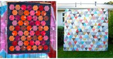 On the Windy Side: How to sew equilateral triangles - a tutorial