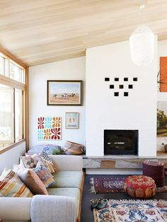 The home of Nancybird designer Emily Wright and partner Robert Dabal. Photo - Eve Wilson, production – Lucy Feagins. Via @Matt Valk Chuah Design Files