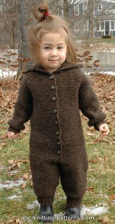 Free Baby Romper Knitting Pattern