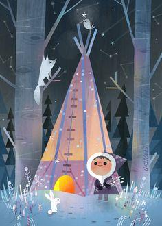 joeyart — Winter Camping