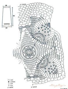 Блузки и топы летние крючком. Обсуждение на LiveInternet - Российский Сервис Онлайн-Дневников