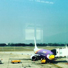 Is it a #bird? Is it a #plane? #Flying from #ChiangMai to #Bangkok. #Thailand #Travel #Airport