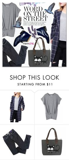"""""""NewChic 6"""" by barbarela11 ❤ liked on Polyvore featuring women's clothing, women, female, woman, misses, juniors and lovenewchic"""