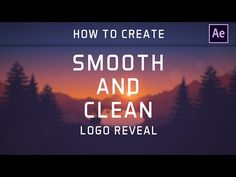 After Effects - Smooth and Clean Logo Reveal | Tutorial by Dope Motions™…