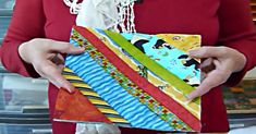 Learn How To Make A Quilt As You Go Block With Strips!