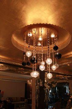 Diva Jewellery Chandelier - Brasse , Crystal And Swarovski - Pont des Arts - Designer Monzer Hammoud - Paris