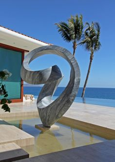 "sgf scultura for Richard Erdman ""eleos cascada"" by Giacomo Santini, via Behance"