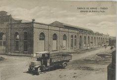 Almacén de accesos y forja. Antigua Fábrica de Armas de Oviedo (España)