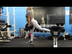 For all the ladies who want nice sculpted glutes, here is a great glute workout from NPC Bikini Competitor Nikki Blackketter