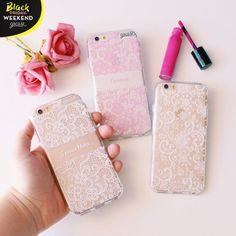 🎀 Your phone should wear the proper attire 😉 Check out these customized cases on our website goca. Cute Cases, Cute Phone Cases, Iphone Cases, Phone Accesories, Tech Accessories, White Iphone, Apple Products, Apple Iphone 6, Proper Attire