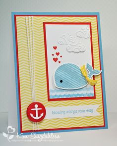 #oh, whale #stampin up