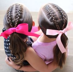 Cute Girls, Little Girls, Hair Ribbons, Little Girl Hairstyles, Chelsea, Diy For Kids, Hair Styles, Instagram, 1