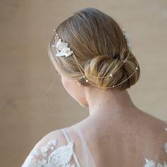Bridal hair piece Bridal hair chain Bohemian Bridal chain headpiece wedding headpiece Boho Wedding hair accessories Bride hair accessory  This item is