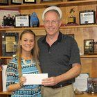 Three Medina County high school graduates win scholarships from county Auditor Mike Kovack.