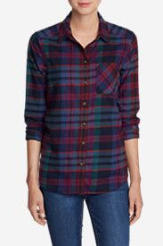Women's Stine's Favorite Flannel Shirt - One-Pocket Boyfriend    Size: M