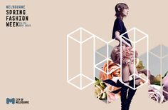 Melbourne Spring Fashion Week / Melbourne Spring Fashion Week Concept Guidelines on Behance Fashion Design Portfolio, Fashion Design Sketches, Poster Layout, Print Layout, Poster Ideas, Trendy Fashion, Spring Fashion, Fashion Ideas, Melbourne Cup Fashion