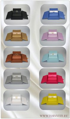 What color would you choose for your #wedding #invitation?