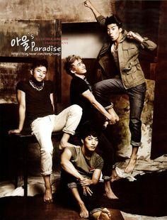 2PM - Junsu & Woo Young & Nichkhun & Junho