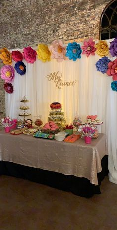 The Mariachi Twins threw a Mexican Inspired Quinceañera! They had a ton of Mexican sweets and colorful decor! Make sure to also read our Mexican Themed Quinceañera planning guide! Get inspiration on decor, desserts, court attires, and more! Mexican Birthday Parties, Mexican Fiesta Party, Fiesta Theme Party, Party Themes, Party Ideas, Mexican Menu, Themed Parties, Diy Party, Quinceanera Planning
