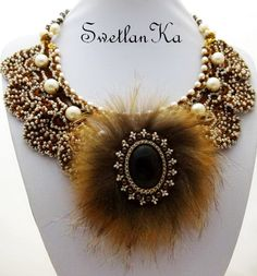 Beautiful and original jewelry with fur   Beads Magic#more-7584