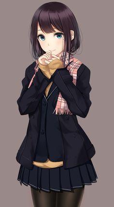 yousing:  (via  【二次・ZIP】色々妄想が捗りそうな可愛い制服姿の女の子の画像ください | 桃色虹画像)