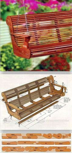 Classic Porch Swing Plans - Outdoor Furniture Plans and Projects   WoodArchivist.com