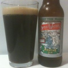 Sweetwater Festive Ale.  One of my favorite Winter Seasonals.