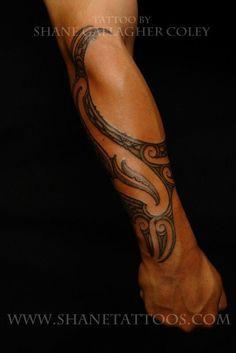 Nice forearm tat #filipinotattoossleeve #polynesiantattoosforearm