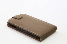 Θήκη Δερμάτινη Flip Case - Γκρί  καφέ (Samsung s4) - myThiki.gr - Θήκες Κινητών-Αξεσουάρ για Smartphones και Tablets - Χρώμα γκρι - καφέ