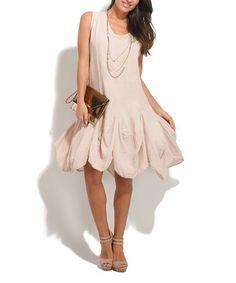Look what I found on #zulily! Light Pink Lali Linen Dress #zulilyfinds