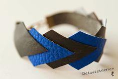 De tout et de rien...Surtout de tout!: Tuto DIY // Des bijoux en cuir!