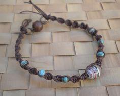 Paper Beads Hemp Jewelry