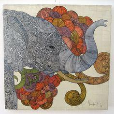 valentina ramos - Dreams of India - original painting