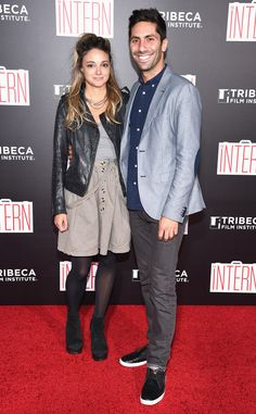 New addition: Nev and Laura, shown in September in New York City, announced online that they were expecting their first child together earlier this month Nev Schulman, Girls Together, Expecting Baby, Catfish, Getting Married, Girlfriends, Dads, Net Worth, Denim