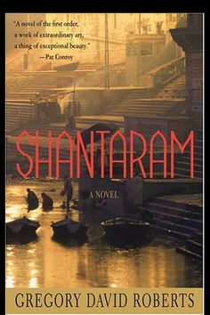 Shantaram by Gregory David Roberts  923 wonderful pages! Blessed to have had the time to read it in Costa Rica <3