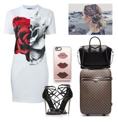 """Going Back Home"" by lovelyboo-xoxo on Polyvore featuring McQ by Alexander McQueen, Dolce&Gabbana, Louis Vuitton, Givenchy and Casetify"