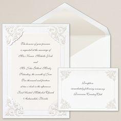 Dynasty Corners Wedding Invitation