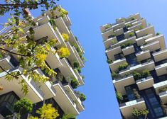"Stefano Boeri's ""vertical forest"" nears completion in Milan"