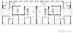 Jardim Edite Social Housing,Torre - Planta