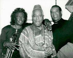 Miles Davis, Dizzy Gillespie and Max Roach