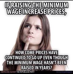 Greed, maybe???? We haven't had high inflation for decades... #uspoli #auspol