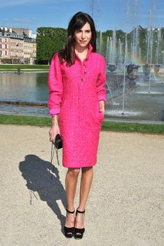 We love this pop of color! Chanel Cruise 2013 - Chanel Resort