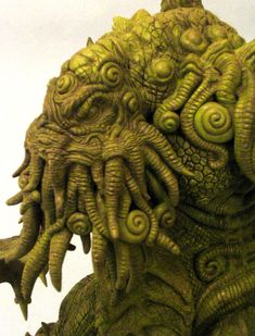 Cthulhu detail by shaungent on DeviantArt