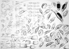 Sketches w elike / Pencil Sketch / Shape Study / Watch / Black and White / at Tasty Sketch