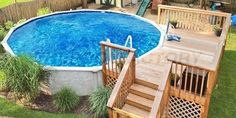 Deck Above Ground Pool Plan B.DIY Above Ground Pool Deck Above Ground Pool Deck Design . Round Pool Deck Plans Pool Decks In 2019 Pool Deck . Easy Pool Deck W Privacy Screen Project Plan 90004 . Finding Best Ideas for your Building Anything Oberirdischer Pool, Above Ground Swimming Pools, Swimming Pools Backyard, In Ground Pools, Lap Pools, Indoor Pools, Pool Water, Piscina Diy, Piscina Intex