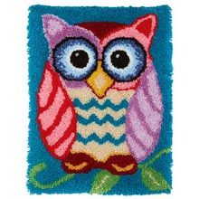 What a Hoot! Latch Hook Kit - Herrschners