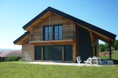Construction d'une maison ossature bois BBC