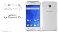Samsung Galaxy J1 for Video Copilot's Element 3D. Product Link: http://store.cgduck.pro/element-3d/samsung-galaxy-j1.html