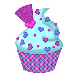 . Candy Clipart, Cupcake Clipart, Cupcake Drawing, Cupcake Art, Love Cupcakes, Birthday Cupcakes, Colouring Pics, Coloring Books, Cupcake Quotes