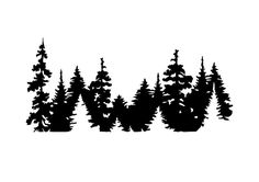 Tree Decals, Car Decals, Vinyl Decals, Wall Stickers, Wald Tattoo, 3d Laser Printer, Tree Silhouette, Mountain Silhouette, Boho Home